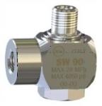 Поворотная муфта для консоли 28.3540.80, 90° нержавеющая сталь