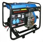 Дизельный генератор с функцией сварки  EDG4400E ETALON
